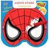 Маски за оцветяване - Анимационни герои - Творчески комплект от 10 маски и моливи -