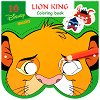 Маски за оцветяване - Цар Лъв - Творчески комплект от 10 маски и моливи -