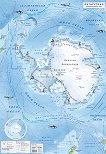 Стенна природогеографска карта на Антарктида - M 1:10 000 000 -
