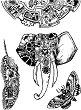 Гумени печати - Механични животни
