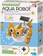 """Направи си сам - Воден робот с хибриден соларен панел - Образователен комплект от серията """"Steam Powered Kids"""" -"""