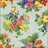 Салфетки за декупаж - Цветя и плодове - Пакет от 20 броя -