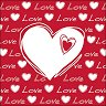 Салфетки за декупаж - Любов - Пакет от 20 броя