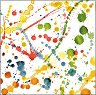 Салфетки за декупаж - Цветни пръски - Пакет от 20 броя