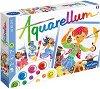 """Оцветявай с акварелни бои - Аладин - Творчески комплект за рисуване от серията """"Aquarellum"""" -"""