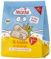 FruchtBar - Бебешки бисквити със спелта и ябълка - Опаковка от 100 g за бебета над 8 месеца -