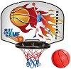 Баскетболен кош с дартс - Комплект за игра с топка и стрелички -
