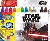 Гел-стик пастели - Star Wars - Комплект от 12 цвята -