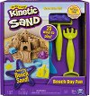 """Кинетичен пясък - Забавление на плажа - Детски комплект за игра от серията """"KInetic Sand"""" -"""