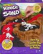 """Кинетичен пясък - Динозавърски разкопки - Детски комплект за игра от серията """"KInetic Sand"""" -"""