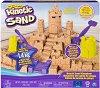 """Кинетичен пясък - Замък - Детски комплект за игра от серията """"KInetic Sand"""" -"""