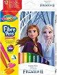 Флумастери - Замръзналото кралство - Комплект от 12 цвята -