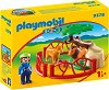 """Лъвове в клетка - Детски конструктор от серията """"Playmobil: 1.2.3"""" -"""