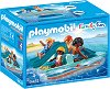 """Лодка - Фигури с аксесоари от серията """"Playmobil: Family Fun"""" -"""