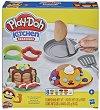 """Направи сам - Палачинки - Творчески комплект с моделин от серията """"Play-Doh: Kitchen"""" -"""