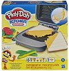 """Направи си сам - Сандвичи на тостер - Творчески комплект с моделин и кинетичен пясък от серията """"Play-Doh: Kitchen"""" -"""