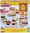 """Направи сам - Златна сладкарница - Творчески комплект с моделин от серията """"Play-Doh: Kitchen"""" -"""