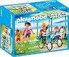 """Рикша - Детски конструктор от серията """"Playmobil: Family Fun"""" -"""