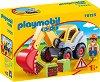 """Екскаватор - В комплект с фигурка от серията """"Playmobil: 1.2.3"""" -"""