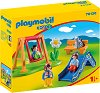 """Детска площадка - Детски конструктор от серията """"Playmobil: 1.2.3"""" -"""
