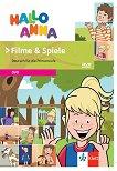 "Hallo Anna - DVD ""Filme & Spiele"" Учебна система по немски език за деца -"