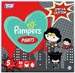 Pampers Pants 5 - Junior: Justice League Special Edition - Гащички за еднократна употреба за бебета с тегло от 12 до 17 kg -