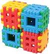 Вафлен конструктор - Комплект от 24 елемента -