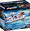 """Шпионски екип и флаер - Детски конструктор от серията """"Playmobil: Top Agents"""" -"""