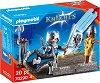 """Подаръчен комплект - Рицар - Детски конструктор от серията """"Playmobil: Knigts"""" -"""