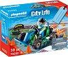 """Подаръчен комплект - Картинг състезател - Детски конструктор от серията  """"City Life"""" -"""