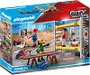 """Работници на скеле - Комплект играчки от серията """"Playmobil: City Action"""" -"""