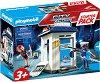 "Стартов комплект - Полиция - Детски конструктор от серията ""Playmobil: City Action"" -"