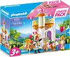 """Стартов комплект - Кралски замък - Детски конструктор от серията """"Playmobil: Princess"""" -"""