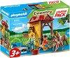 """Стартов комплект - Ферма за коне - Детски конструктор от серията """"Playmobil: Country"""" -"""