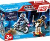 "Стартов комплект - Полицейско преследване - Детски конструктор от серията ""Playmobil: City Action"" -"