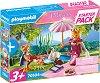 "Стартов комплект - Кралски пикник - Детски конструктор от серията ""Playmobil: Princess"" -"