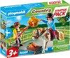 """Стартов комплект - Конна езда - Детски конструктор от серията """"Playmobil: Country"""" -"""
