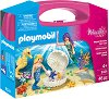 """Русалки - Детски конструктор в куфарче от серията """"Playmobil: Princess"""" -"""