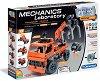 """Лаборатория по механика - Камион - Образователен комплект от 200 части от серията """"Clementoni: Science"""" -"""