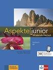 Aspekte junior - ниво B2: Учебник по немски език + аудиоматериали - продукт