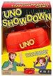 Uno Showdown - Комплект карти и машинка за изстрелване -