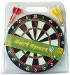 Класически дартс - Комплект от 4 стрелички и мишена с диаметър ∅ 30 cm -
