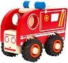 Линейка - Детска дървена играчка -