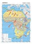 Африка - климат и води - Стенна карта - М 1:7 800 000 -