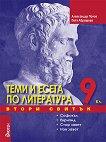 Теми и есета по литература за 9. клас - Втори свитък  - Александър Панов, Петя Абрашева - книга