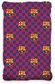 Долен чаршаф с ластик - ФК Барселона - 100% памук за матрак с размери 90 / 200 / 25 cm -