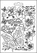 Силиконова форма за моделиране - Орхидеи - Размери 14.8 x 21 cm -