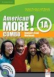 American More! - ниво 1 (A1): Учебник и учебна тетрадка - Combo А + CD / CD-ROM -