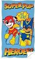 """Детска кърпа - 100% памук с размери 30 x 50 cm от серията """"Paw Patrol"""" -"""