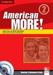 American More! - ниво 2 (A2): Материали за учителя със Testbuilder CD-ROM / Audio CD - продукт